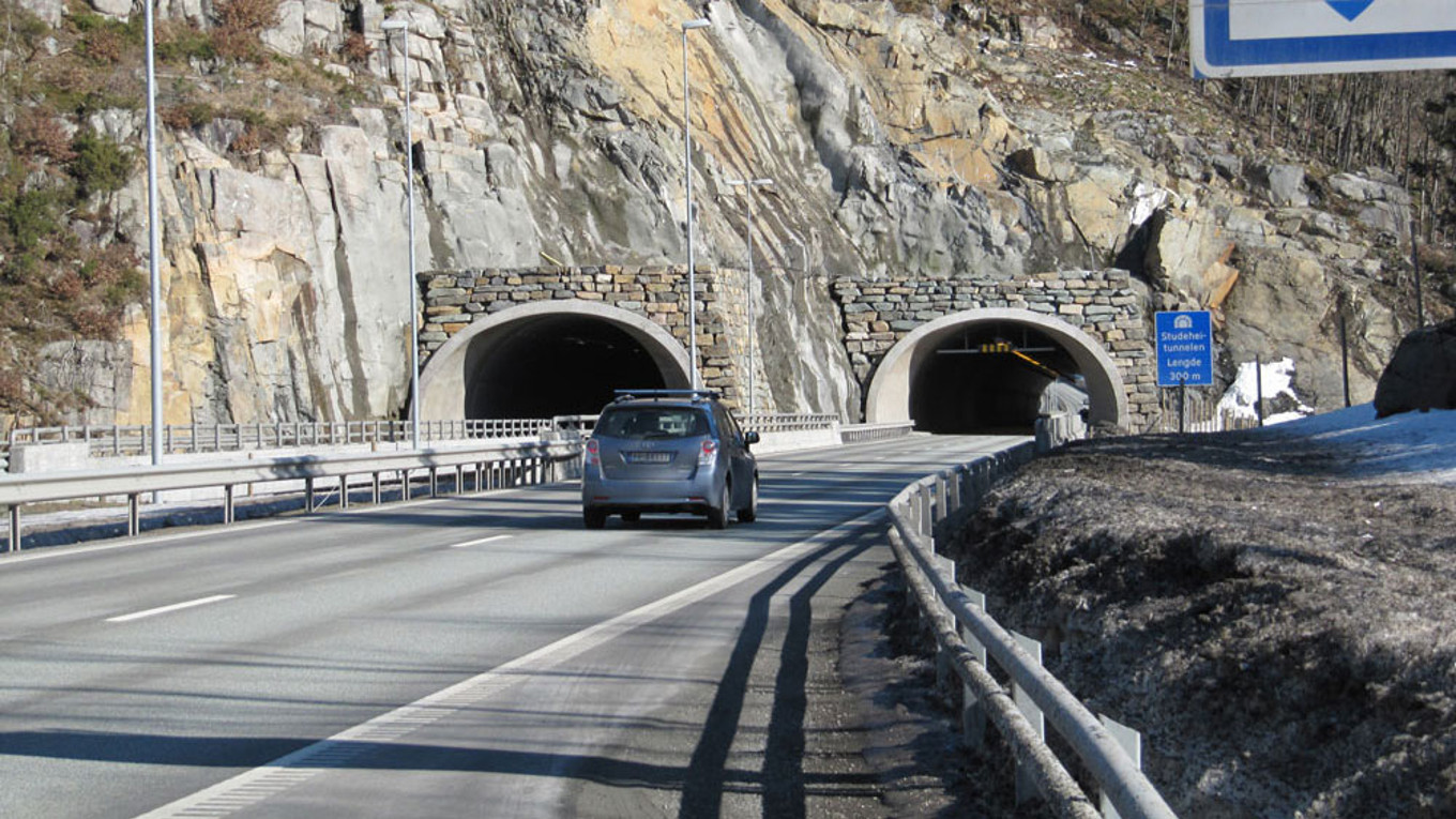 E18-Tunnel Norwegen