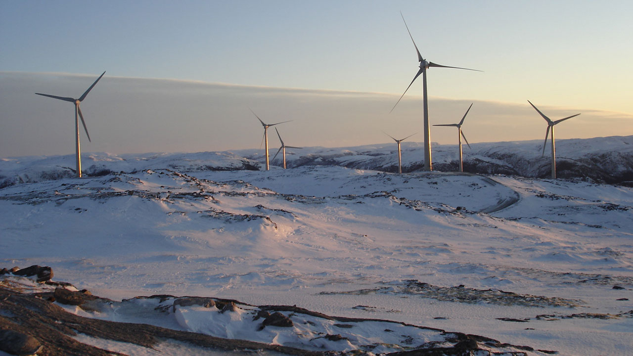 Onshore-Windpark